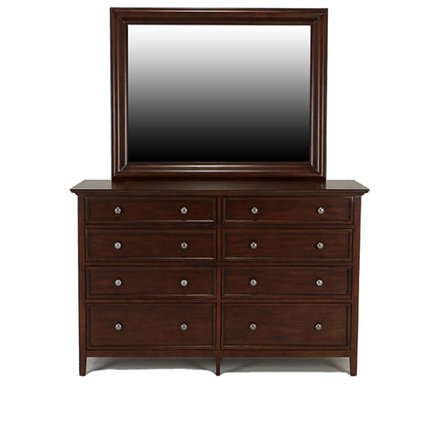 Shop Mealey's Spencer Mahogany Dresser & Mirror at Mealey's Furniture
