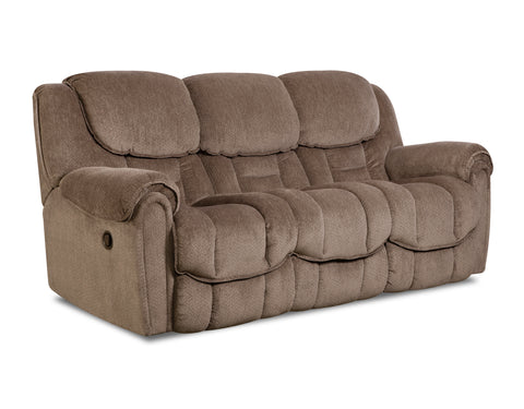 Shop Home Stretch Del Mar Taupe Power Reclining Sofa at Mealey's Furniture