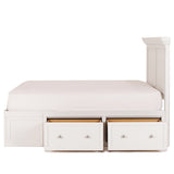 Shop Mealey's Spencer White King Storage Bed at Mealey's Furniture