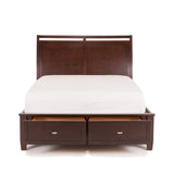 Shop Mealey's Tribeca Queen Storage Bed at Mealey's Furniture