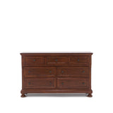 Shop Mealey's Jackson 5 Drawer Dresser & Mirror at Mealey's Furniture