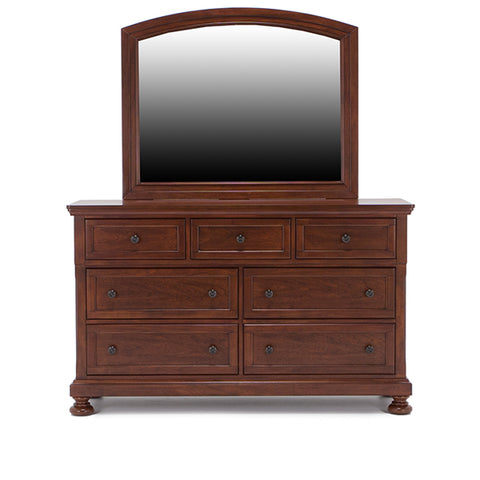 Jackson 5 Drawer Dresser & Mirror