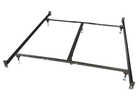 Shop Glideaway Metal Bed Frame Glideaway Steel Bolt On King Bed Frame at Mealey's Furniture
