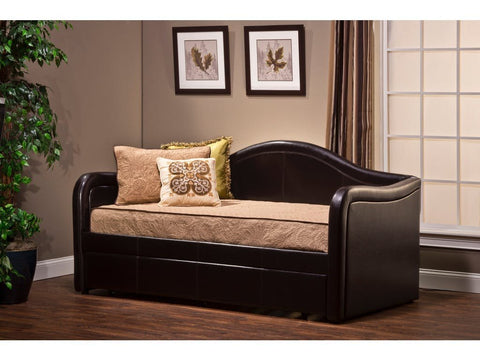 Shop Hillsdale Brenton Brown Brenton Daybed W/Trundle at Mealey's Furniture