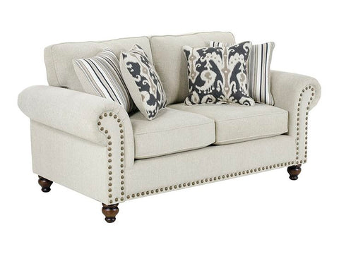 Shop Fusion Fairy Sand Loveseat at Mealey's Furniture