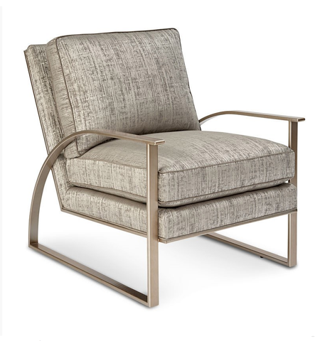 Shop A.R.T. Furniture Cityscapes Crystal Accent Chair   Metal Frame at Mealey's Furniture