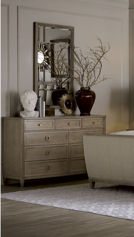 Shop A.R.T. Furniture Cityscapes Dresser & Mirror at Mealey's Furniture