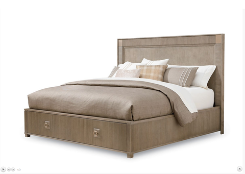 Shop A.R.T. Furniture Cityscapes King Storage Panel Bed at Mealey's Furniture