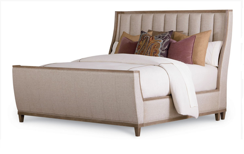Shop A.R.T. Furniture Cityscapes King Upholstered Shelter Sleigh Bed at Mealey's Furniture