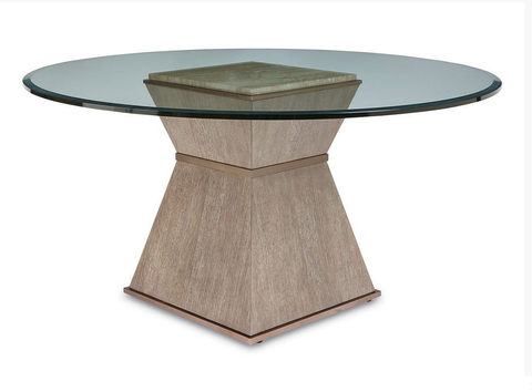 Shop A.R.T. Furniture Cityscapes Round Glass Top Dining Table at Mealey's Furniture