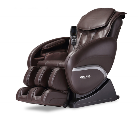Shop Cozzia Zero G Chocolate Massage Chair at Mealey's Furniture