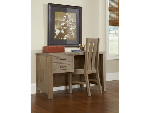 Shop Hillsdale Hudson (Highlands) Driftwood Desk at Mealey's Furniture