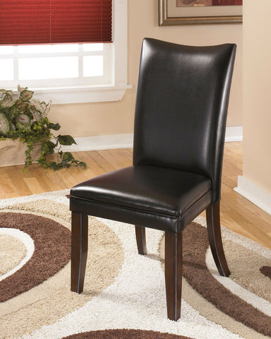 Shop Ashley Furniture Charrell Side Chair Rta Black at Mealey's Furniture