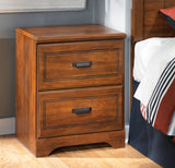 Shop Ashley Furniture Barchan Two Drawer Night Stand at Mealey's Furniture