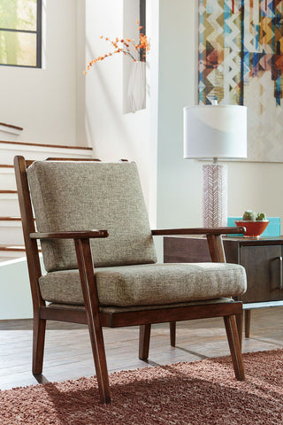 Shop Ashley Furniture Dahra Jute Accent Chair at Mealey's Furniture