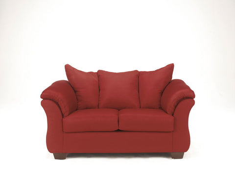 Shop Ashley Furniture Darcy Salsa Loveseat at Mealey's Furniture
