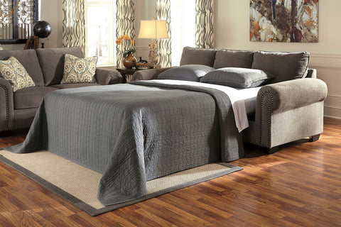Shop Ashley Furniture Emelen Alloy Queen Sofa Sleeper at Mealey's Furniture