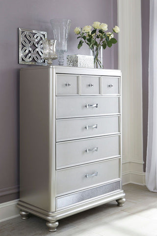 Shop Ashley Furniture Coralayne Five Drawer Chest at Mealey's Furniture