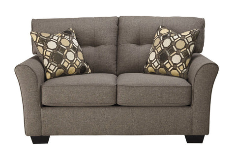 Shop Ashley Furniture Tibbee Slate Loveseat at Mealey's Furniture