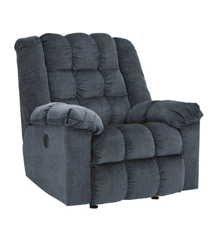 Shop Ashley Furniture Ludden Blue Power Rocker Recliner at Mealey's Furniture