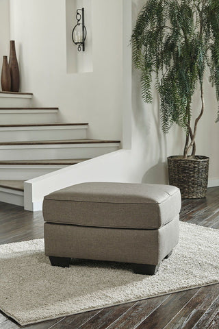 Shop Ashley Furniture Calicho Cashmere Ottoman at Mealey's Furniture