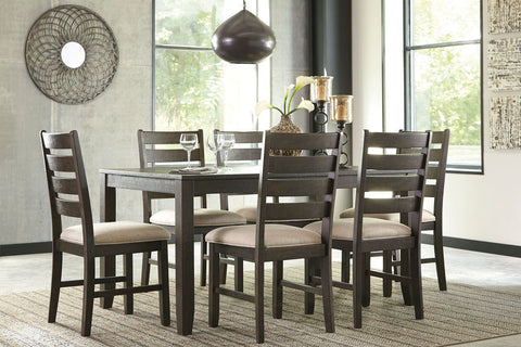Shop Ashley Furniture Rokane Dining Room Table Set (7/Cn) at Mealey's Furniture