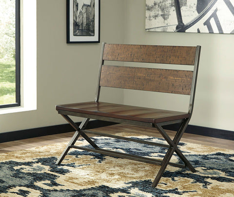 Shop Ashley Furniture Kavara Medium Brown Double Dining Chair at Mealey's Furniture