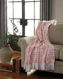 Shop Ashley Furniture Cassbab Coral Throw at Mealey's Furniture