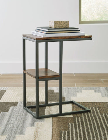 Shop Ashley Furniture Forestmin Natural/Black Accent Table at Mealey's Furniture