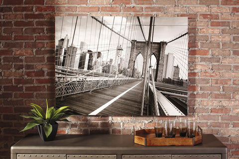Shop Ashley Furniture Gunner Black/White Wall Art at Mealey's Furniture