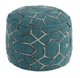 Shop Ashley Furniture Overdyed Dark Green Pouf at Mealey's Furniture