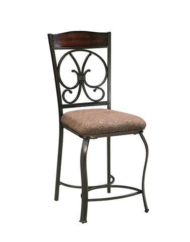 Shop Ashley Furniture Glambrey Upholstered Barstool at Mealey's Furniture
