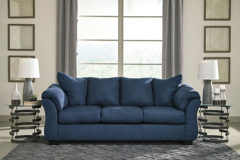 Shop Ashley Furniture Darcy Blue Sofa at Mealey's Furniture