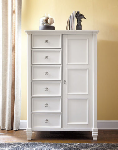 Shop Ashley Furniture Prentice Door Chest at Mealey's Furniture