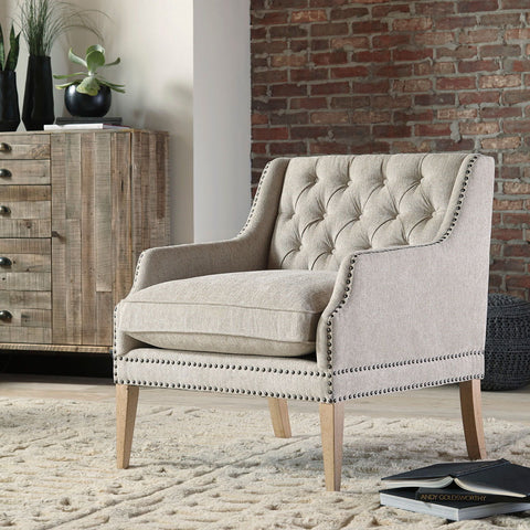 Shop Ashley Furniture Trivia Bone Accent Chair at Mealey's Furniture