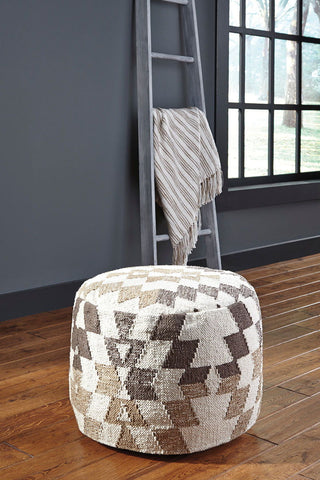 Shop Ashley Furniture Abraham Pouf at Mealey's Furniture