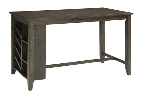 Shop Ashley Furniture Rokane Rect Counter Table W/Storage at Mealey's Furniture