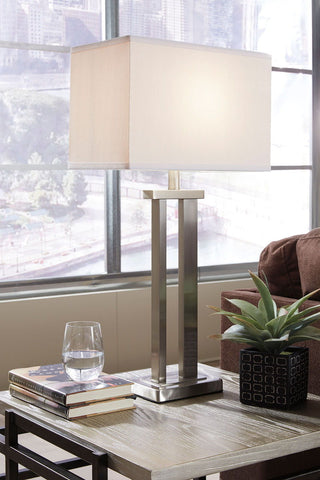 Shop Ashley Furniture Aniela Metal Table Lamp (2/CN) at Mealey's Furniture