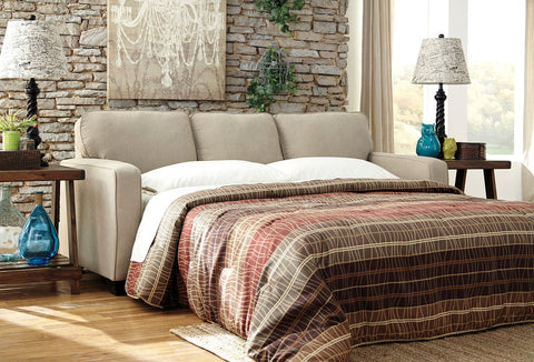 Shop Ashley Furniture Alenya Quartz Queen Sofa Sleeper at Mealey's Furniture