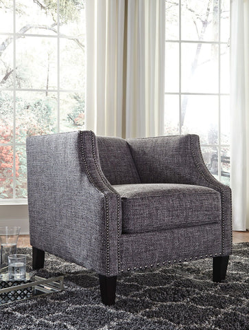 Shop Ashley Furniture Felsbert- Charcoal Accent Chair at Mealey's Furniture