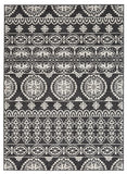 Jicarilla Black/White Medium Rug