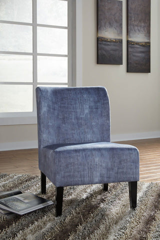 Shop Ashley Furniture Triptis- Denim Accent Chair at Mealey's Furniture