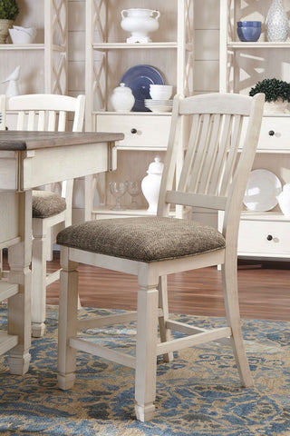 Shop Ashley Furniture Bolanburg Upholstered Barstool at Mealey's Furniture
