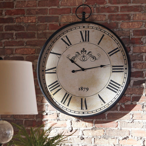 Shop Ashley Furniture Augustina Wall Clock at Mealey's Furniture