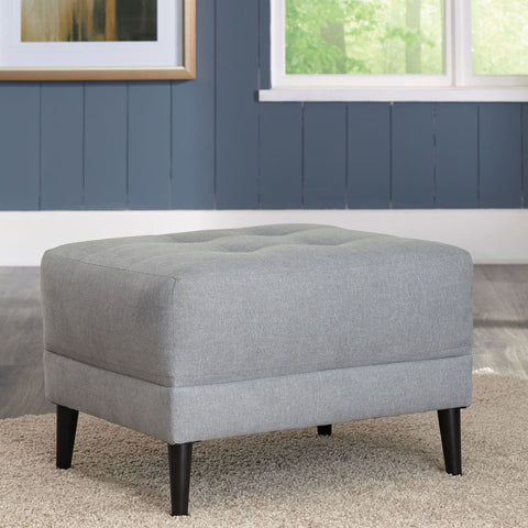 Shop Ashley Furniture Cardello Pewter Ottoman at Mealey's Furniture