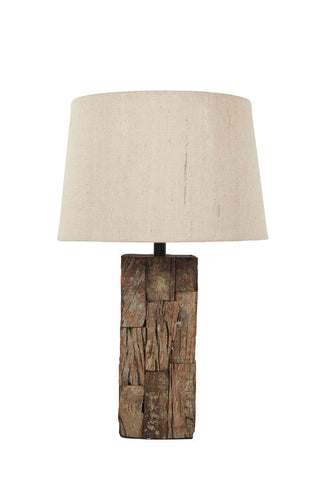 Shop Ashley Furniture Selemah Light Brown Wood Table Lamp (1/CN) at Mealey's Furniture