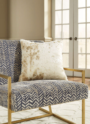 Shop Ashley Furniture Landers- Cream/Gold Pillow at Mealey's Furniture