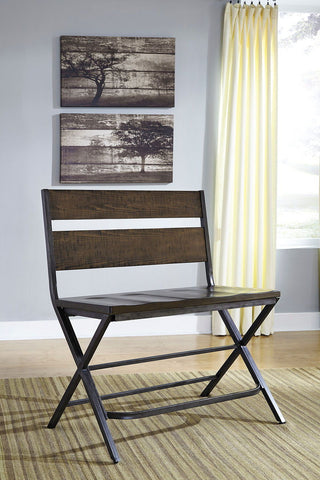 Shop Ashley Furniture Kavara Medium Brown Double Barstool at Mealey's Furniture
