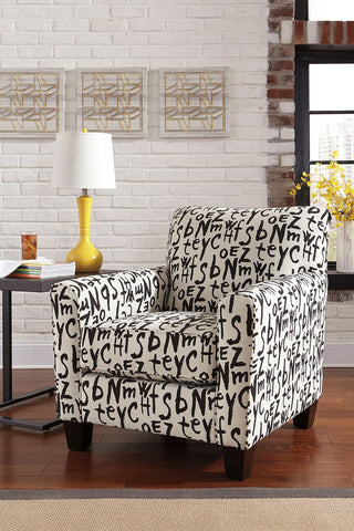 Shop Ashley Furniture Brindon Accent Chair   Raven at Mealey's Furniture