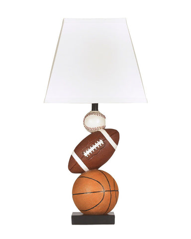 Shop Ashley Furniture Nyx Brown/Orange Poly Table Lamp (1/CN) at Mealey's Furniture